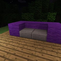How To Make A Simple Lego Sofa Cherry Leather Reclining Furniture In Minecraft Wonderhowto Chairs Here S Chair Made