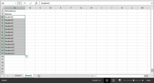 small resolution of How to Create a Basic Attendance Sheet in Excel « Microsoft Office ::  WonderHowTo