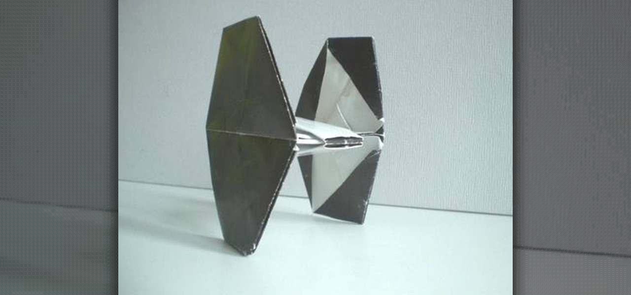 folding origami box diagram trailer plug how to fold an tie fighter from star wars « :: wonderhowto
