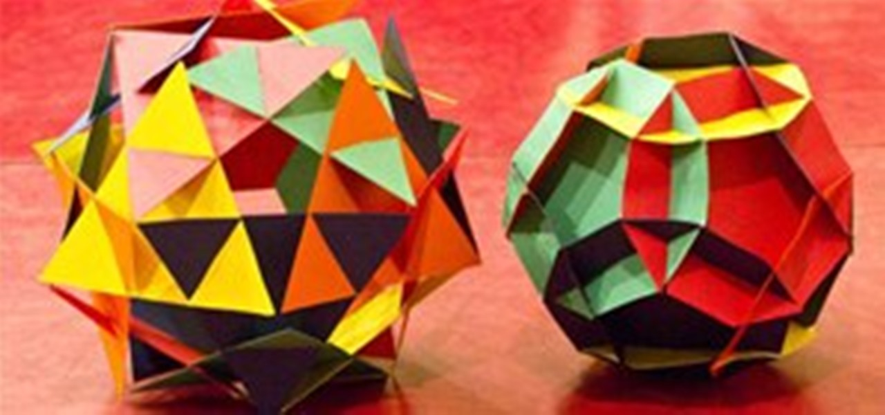 7 Templates For Slide Together Geometric Paper