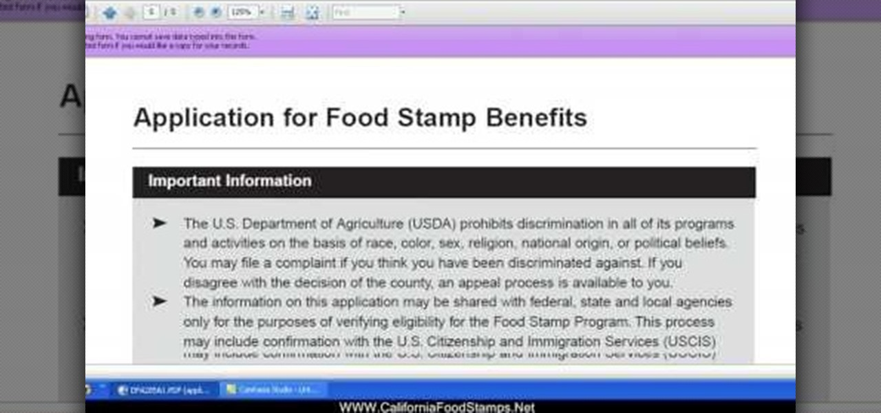 Website Apply Food Stamps