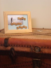 How to Customize a Picture Frame with Scrabble Letters ...