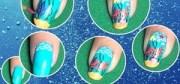 remove glue- nails