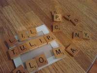 How to Make Coasters with Scrabble Tiles  Scrapbooking ...