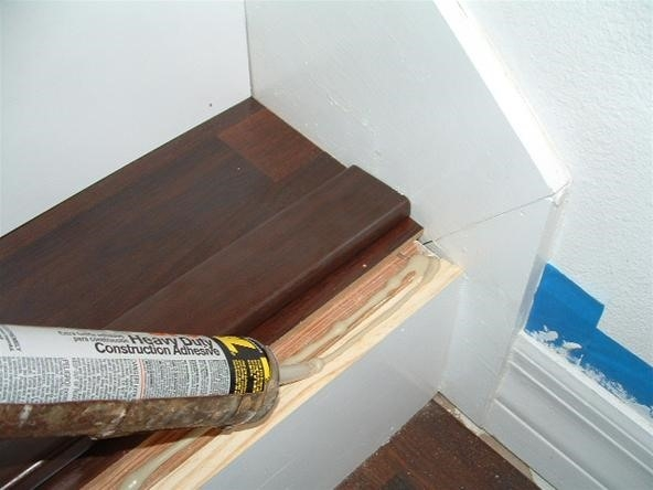 Do You Want To Install Laminate Flooring On Your Stairs « Diy   Wood Floor Step Edge   Stair Tread   Staircase   Engineered Hardwood   Trim   Carpeted Stairs