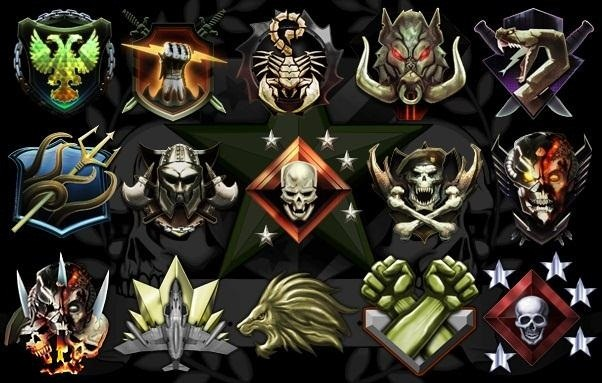 Call of Duty Black Ops II medals