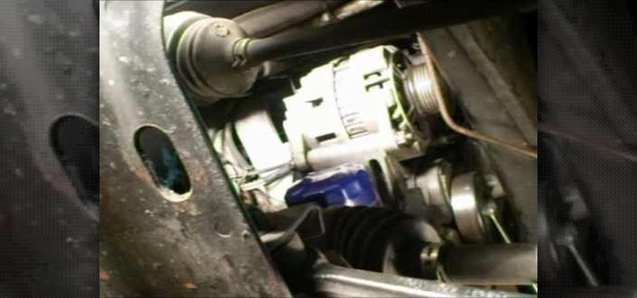 1997 Saturn Sl2 Engine Diagram How To Remove The Alternator From A Saturn S Series Car