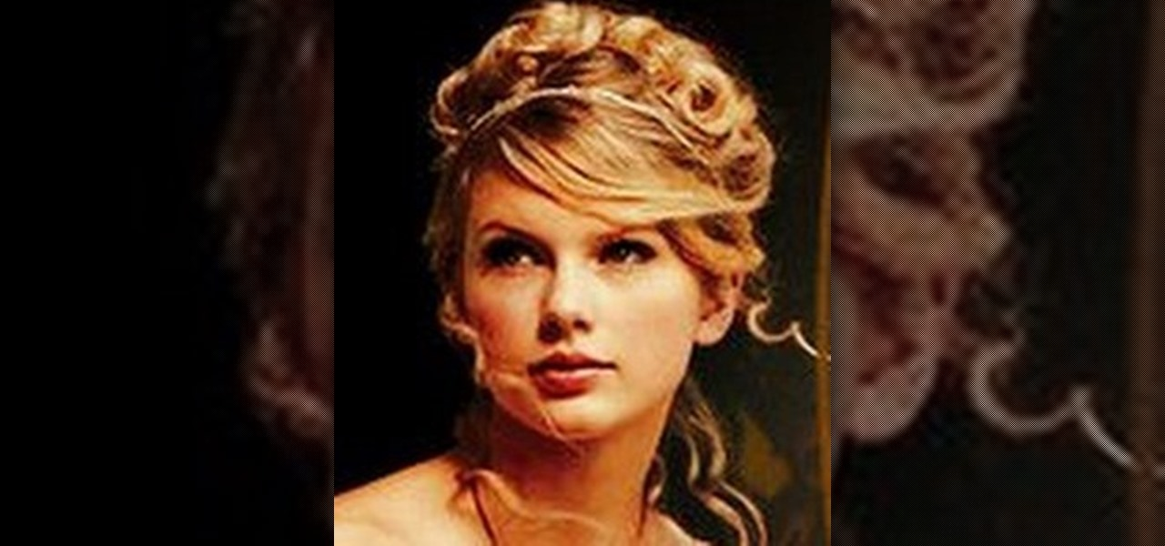 How To Get Taylor Swifts Pretty Love Story Updo