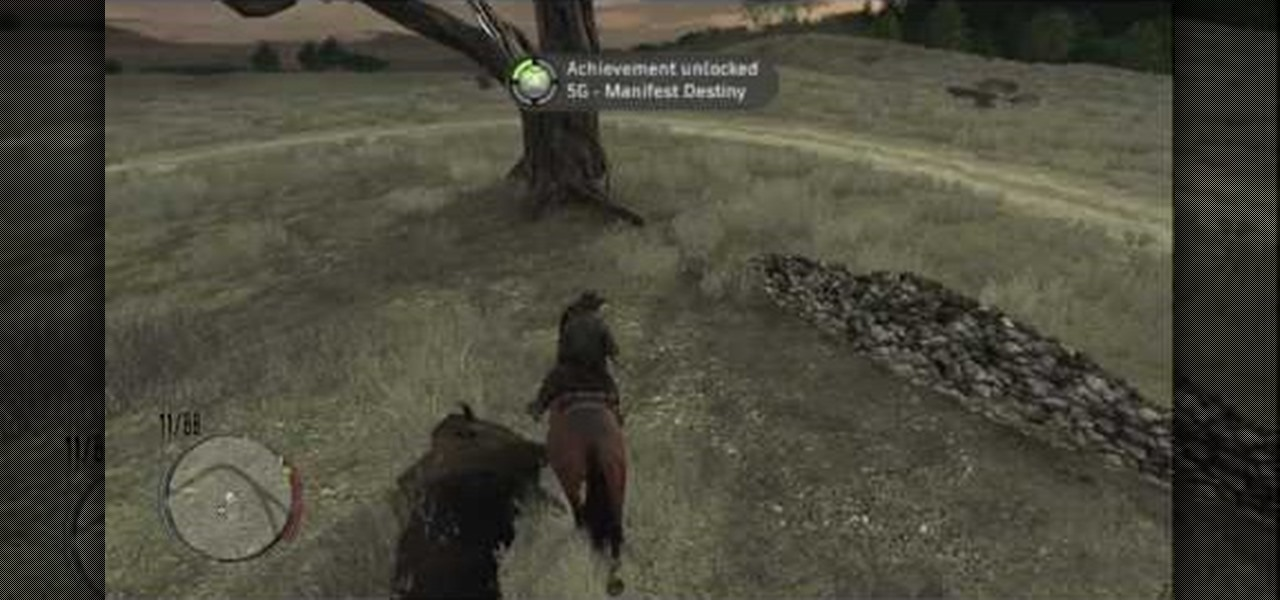 How To Get The Manifest Destiny Achievement In RDR Xbox