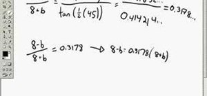 How to Use the law of tangents in trigonometry « Math