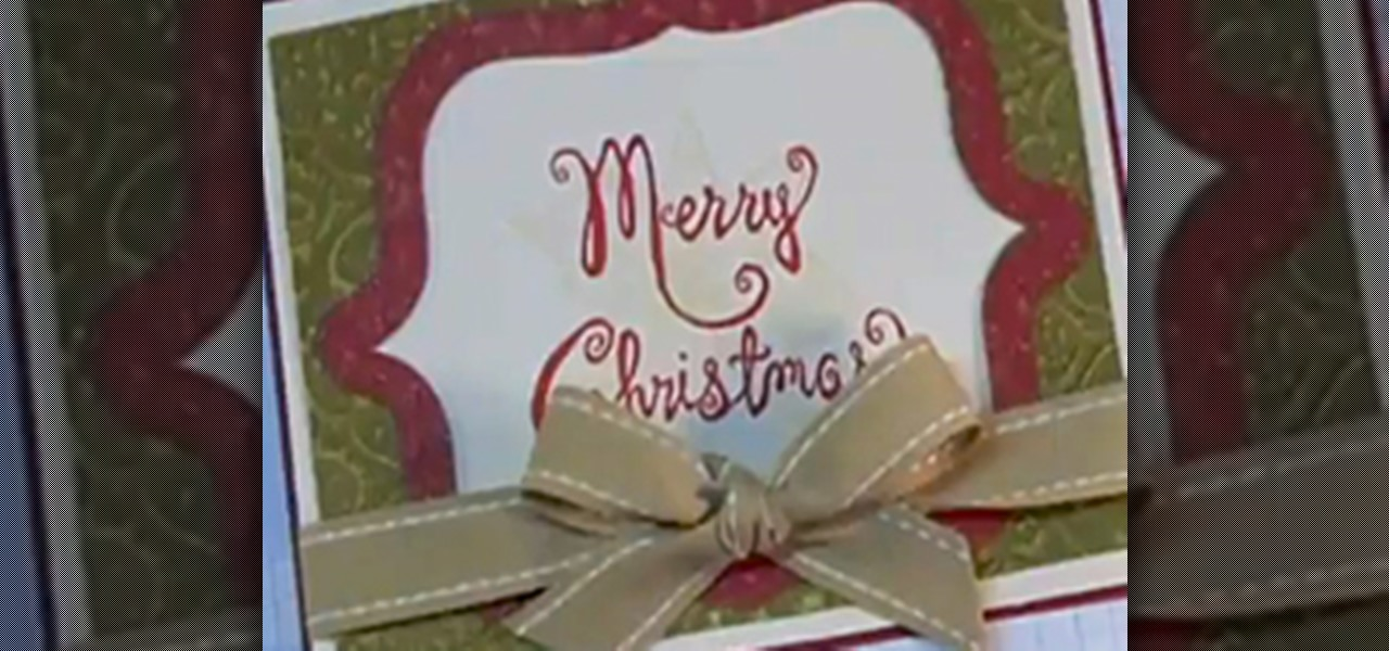 How To Make DIY Christmas Cards For The Holidays
