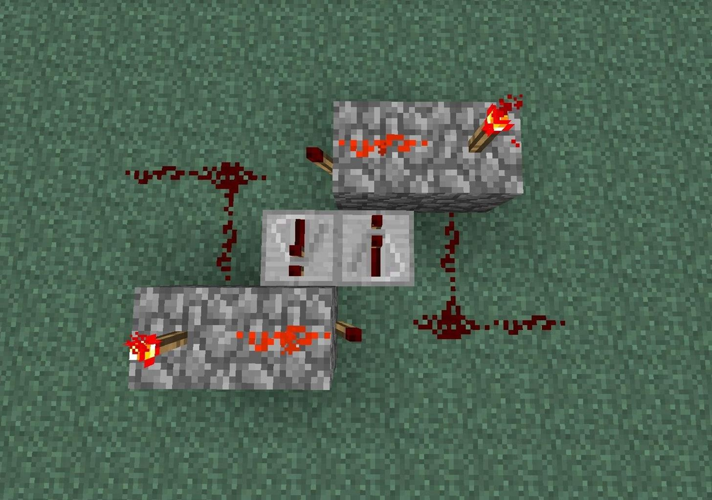 How To Make A Redstone Repeating Circuit And Make It Continuous