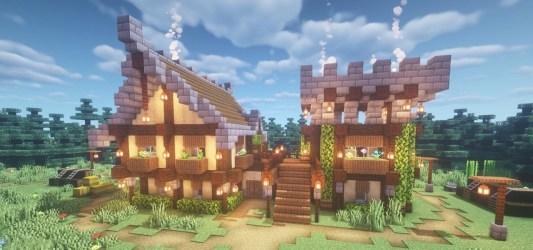 How to Build a House in Minecraft Minecraft :: WonderHowTo