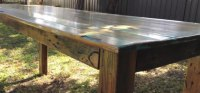 Build Rustic Kitchen Table