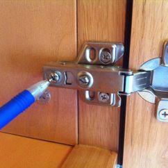 Kitchen Cabinet Door Bumper Pads Round Sink How To Adjust The Alignment Of Doors ...