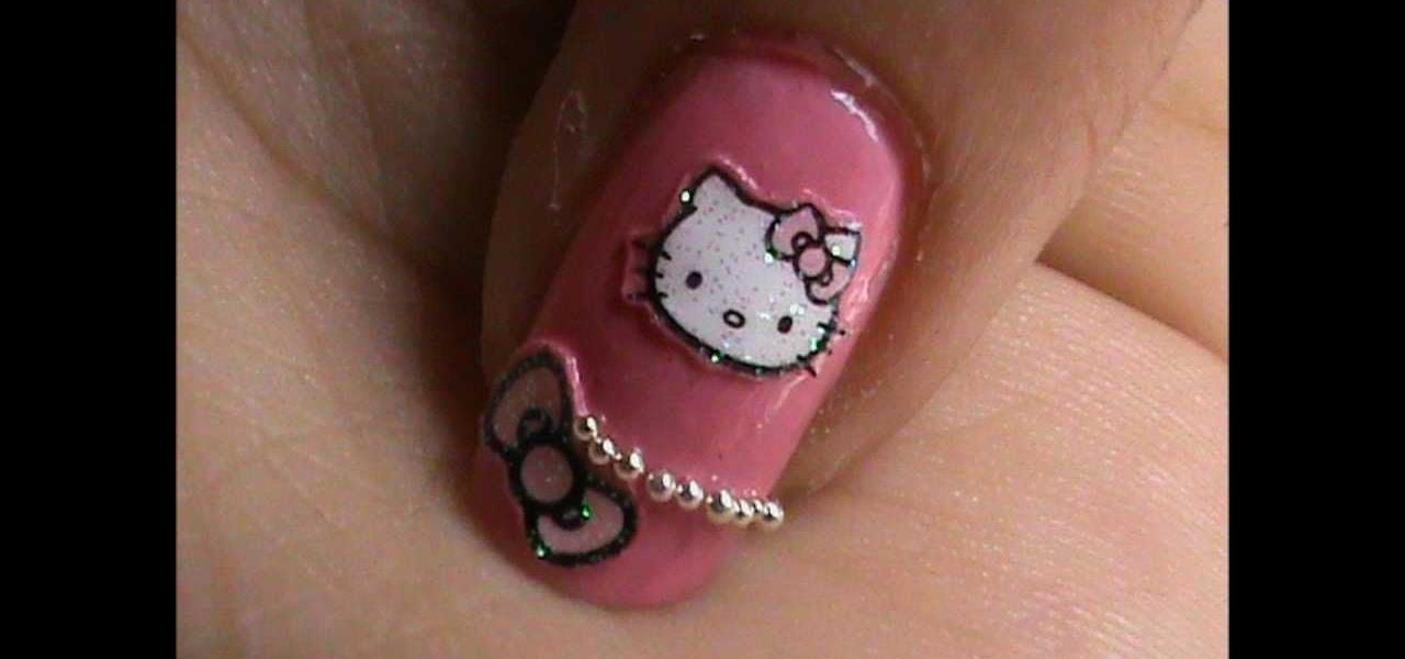 Do O Kitty Nail Art Design
