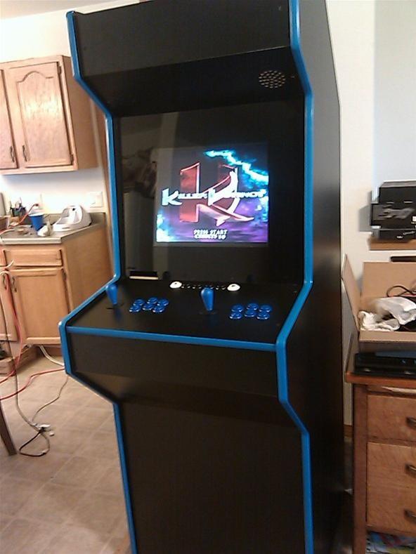 kitchen cabinet software built in islands diy challenge: custom arcade/emulator ...