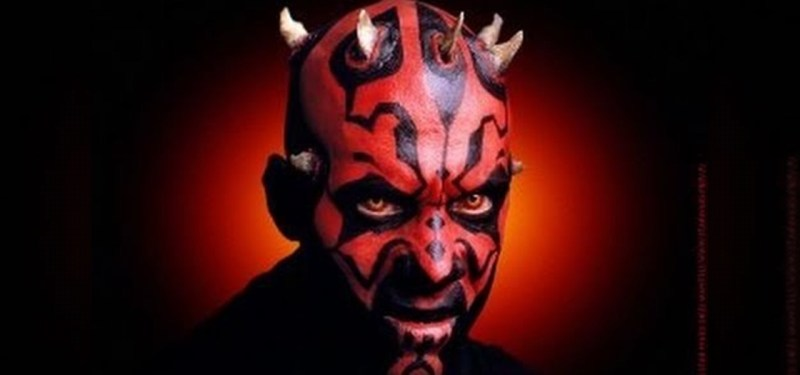 Star Wars Darth Maul Makeup Look