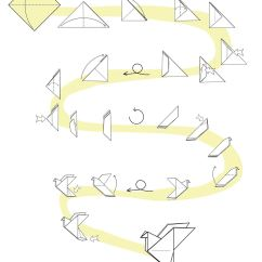 Lily Diagram Printable House Electrical Wiring Symbols Uk Fold A Peace Dove From Sheet Of Paper  Tavin 39s Origami
