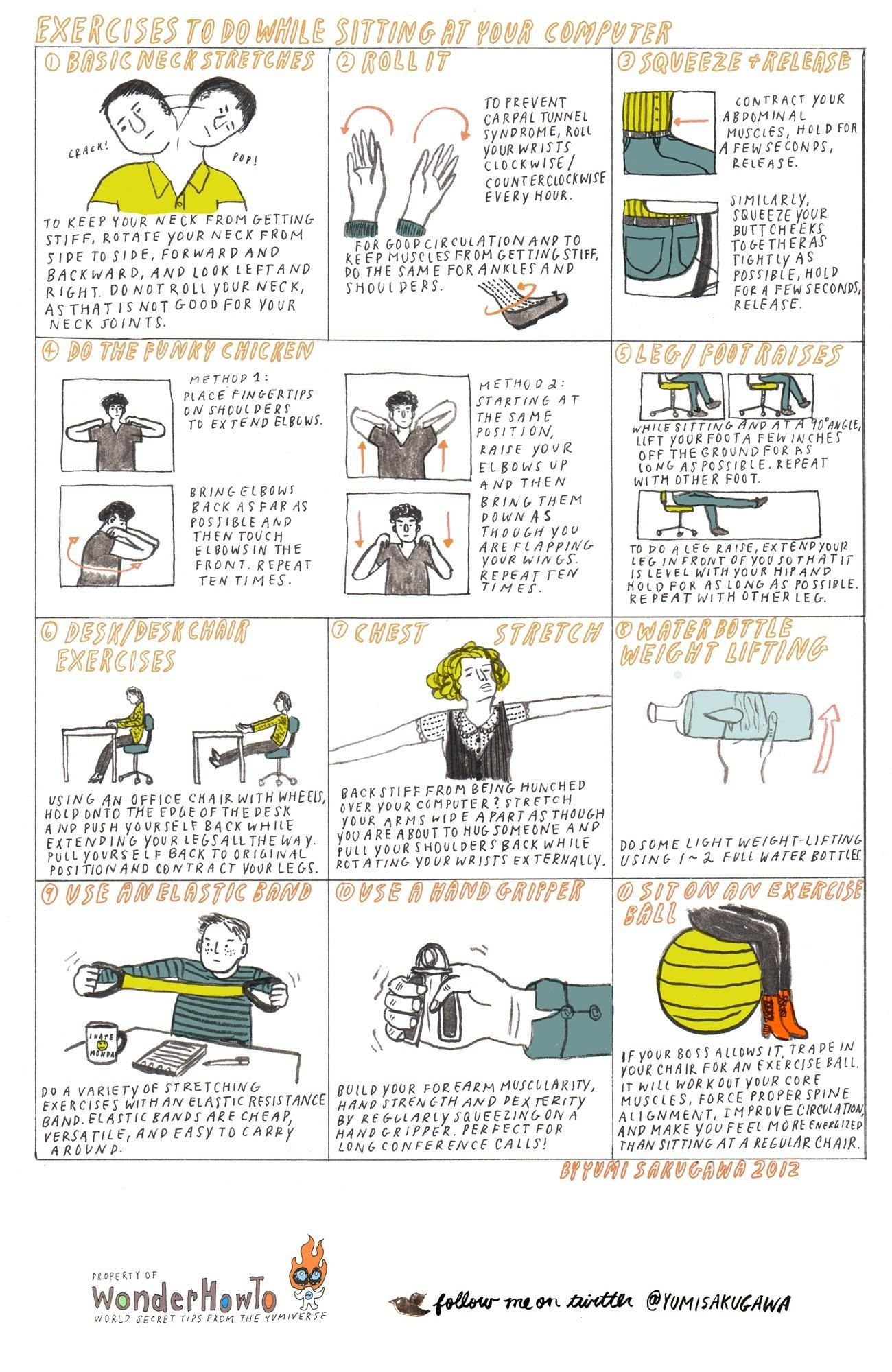 office chair workouts for abs antique living room styles 11 exercises to do while sitting at your computer  the