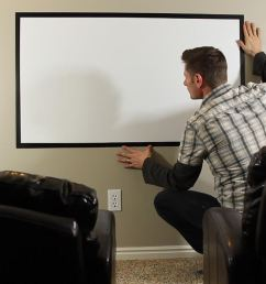 how to make a diy home theater projector and 50 screen for only 5 great for march madness macgyverisms wonderhowto [ 1456 x 819 Pixel ]