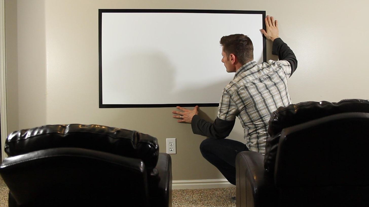 hight resolution of how to make a diy home theater projector and 50 screen for only 5 great for march madness macgyverisms wonderhowto
