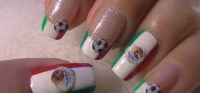 How to Do Mexico inspired nail art for the 2010 World Cup ...