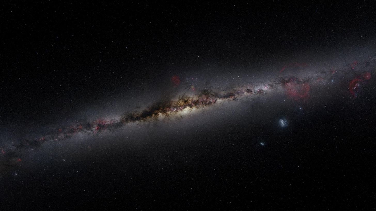 New Computer Simulation Reveals How Our Milky Way Really