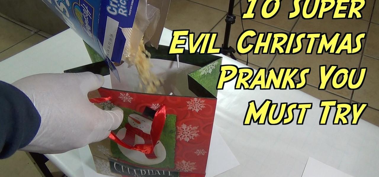 Christmas Gift Pranks
