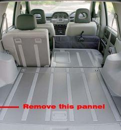 step 1take off rear left plastic pannel [ 1097 x 889 Pixel ]