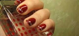 How To Apply Rhinestones Your Nails