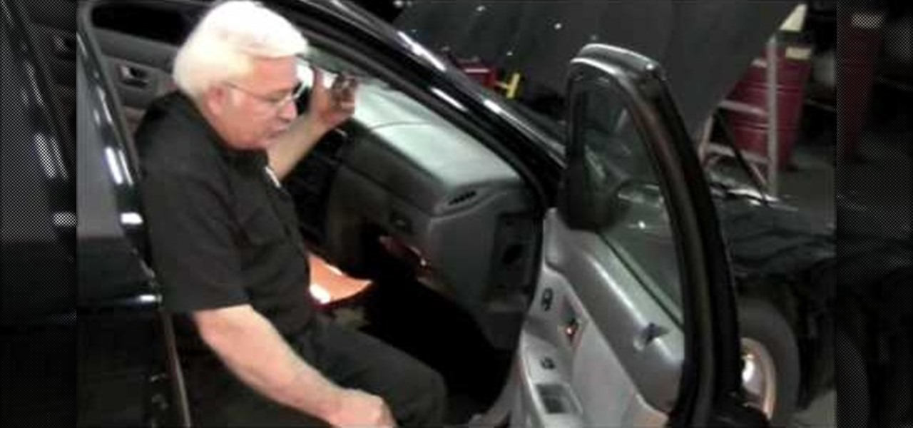2002 mercury sable wiring diagram all guitar diagrams how to use a shortcut quickly remove heater core on 2001 ford taurus auto maintenance repairs wonderhowto