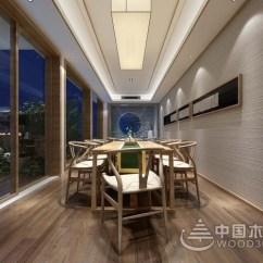 High End Kitchen Sinks Dining Room Paint Colors 19款新中式餐厅搭配,让你吃饭都有诗情画意!-中国木业网