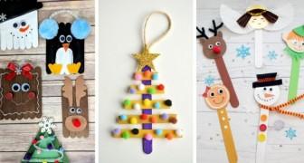 E se invece in casa hai rotelle, vernice verde e sonaglini? 13 Idee Deliziose Per Lavoretti Di Natale Da Realizzare Con I Bimbi Usando Gli Stecchi Del Gelato Creativo Media