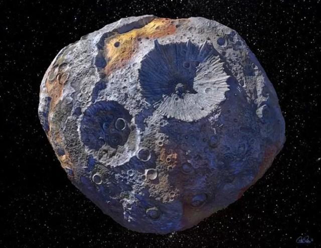 La NASA a découvert un astéroïde si rempli d'or qu'il pourrait bouleverser notre économie 2