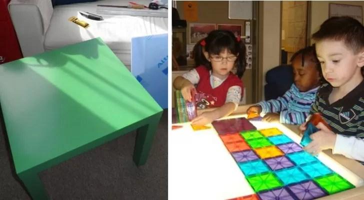 tables lumineuses pour enfants