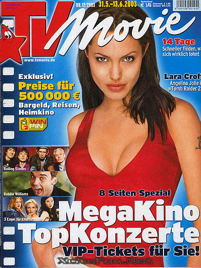 Cute Indian Actress Wallpapers Angelina Jolie Biggest Magazine Cover Page Collection