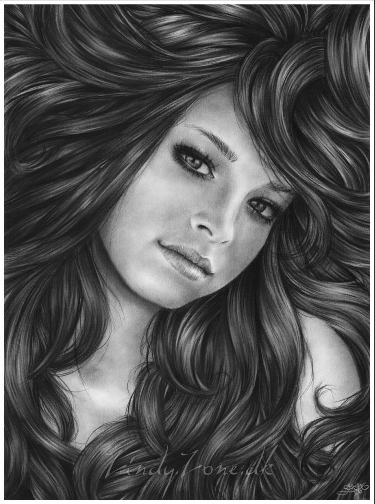 Indian Girl Wallpapers For Desktop Sketch Stunning Pencil Drawings Part 1 Xcitefun Net