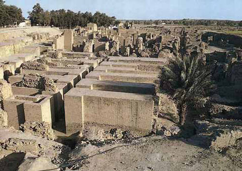 babili Ruins of Babylon  Iraq