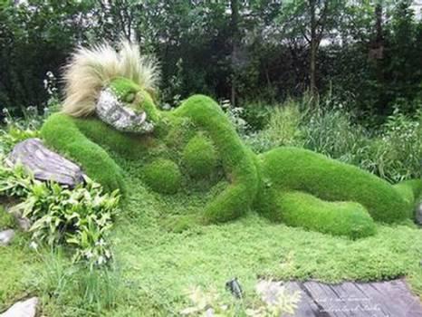 Sculpture naturelle rêve femme