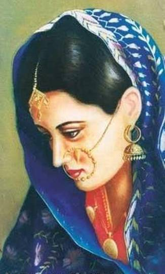 Indian Girl Face Wallpaper The Richest Punjabi Culture Paintings Xcitefun Net