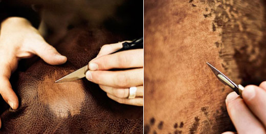 Animals Skin Paint Art With Knives Xcitefun Net