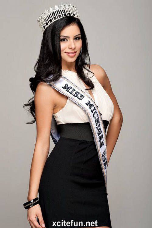 Rima Fakih Miss USA 2010  Photo Gallery  XciteFunnet