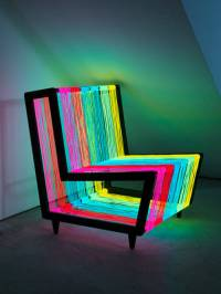 Disco Chair - The Colorful Furniture - XciteFun.net