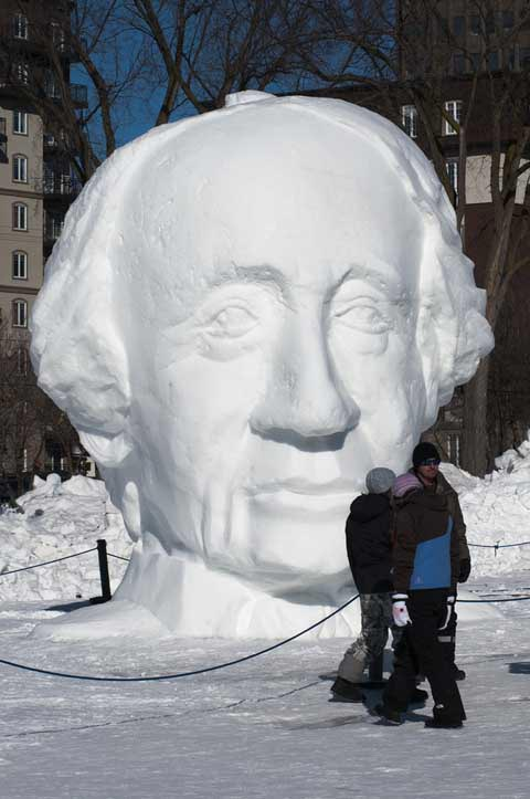 Desktop Wallpapers Funny Quotes Awesome Snow Sculptures Art Xcitefun Net
