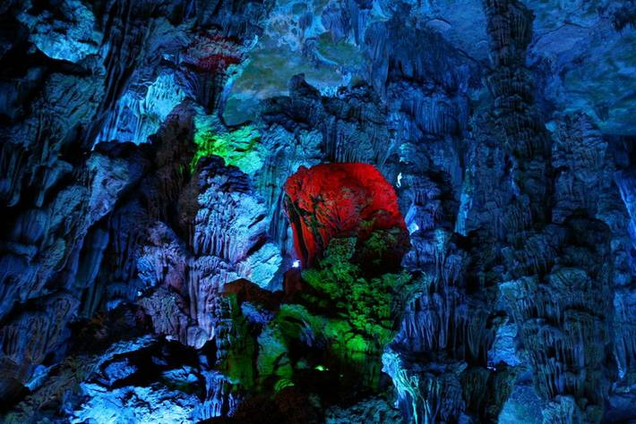 Reed Flute Cave  China  XciteFunnet