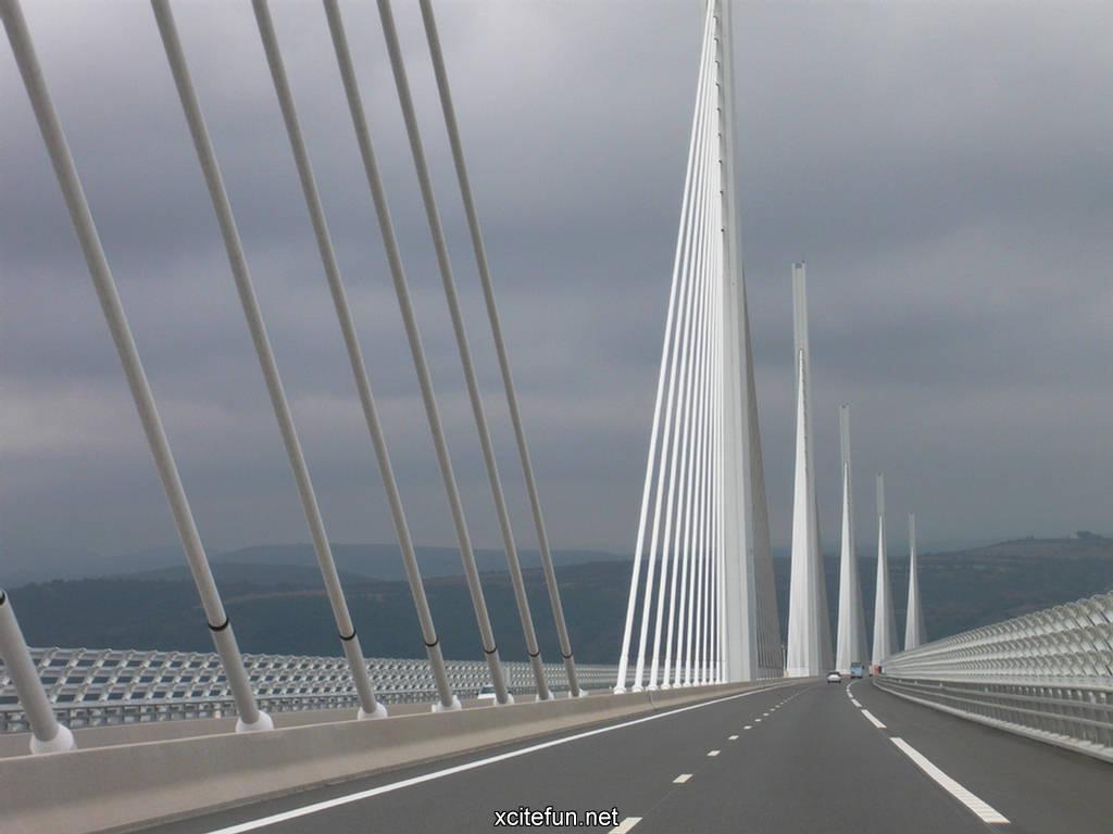 Construction Wallpaper Hd Millau Viaduct Bridge World Highest Bridge Wallpapers