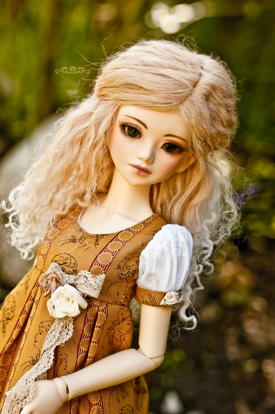 Sweet Cute Dolls Wallpapers Beautiful Look Bjd Julia Xcitefun Net