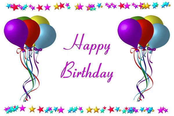 Balloons Happy Birthday Robin