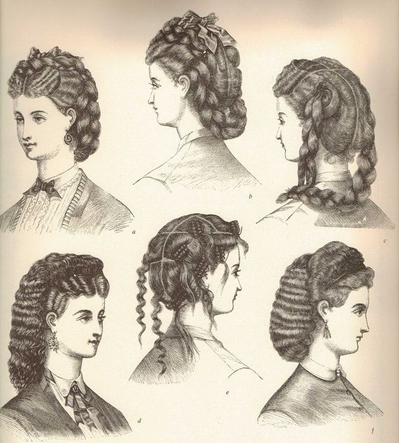 Glamorous Victorian Hairstyles For Women 2012